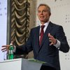 1,600 students in Dnipropetrovsk are given formula for development and modernization of Ukraine from Tony Blair