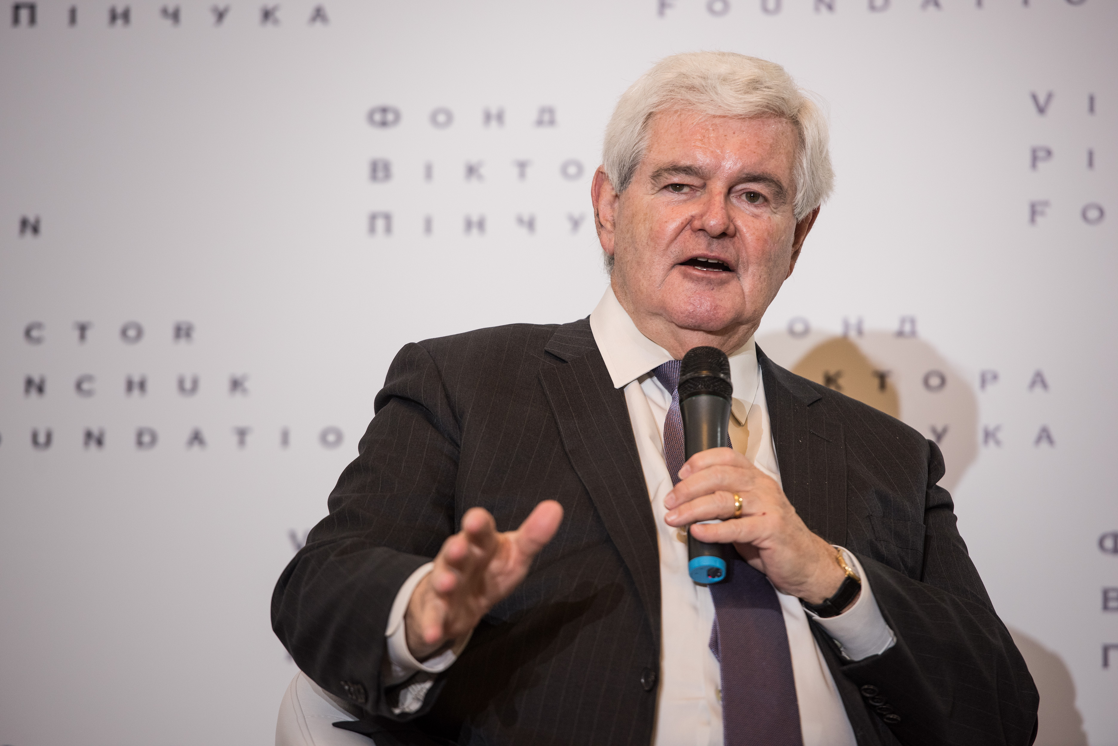 Public lecture by Newt Gingrich