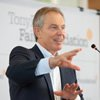 "Tony Blair gave a public lecture ""Faith and Globalization"" to Ukrainian students"