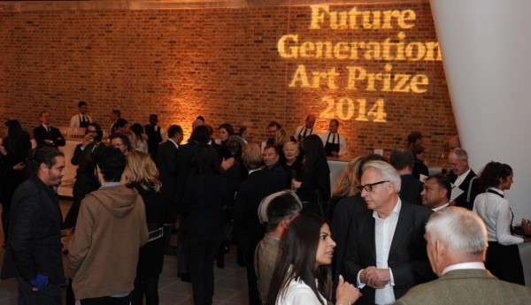 Launch of the 3rd Edition of the Future Generation Art Prize at London's Serpentine Sackler Gallery