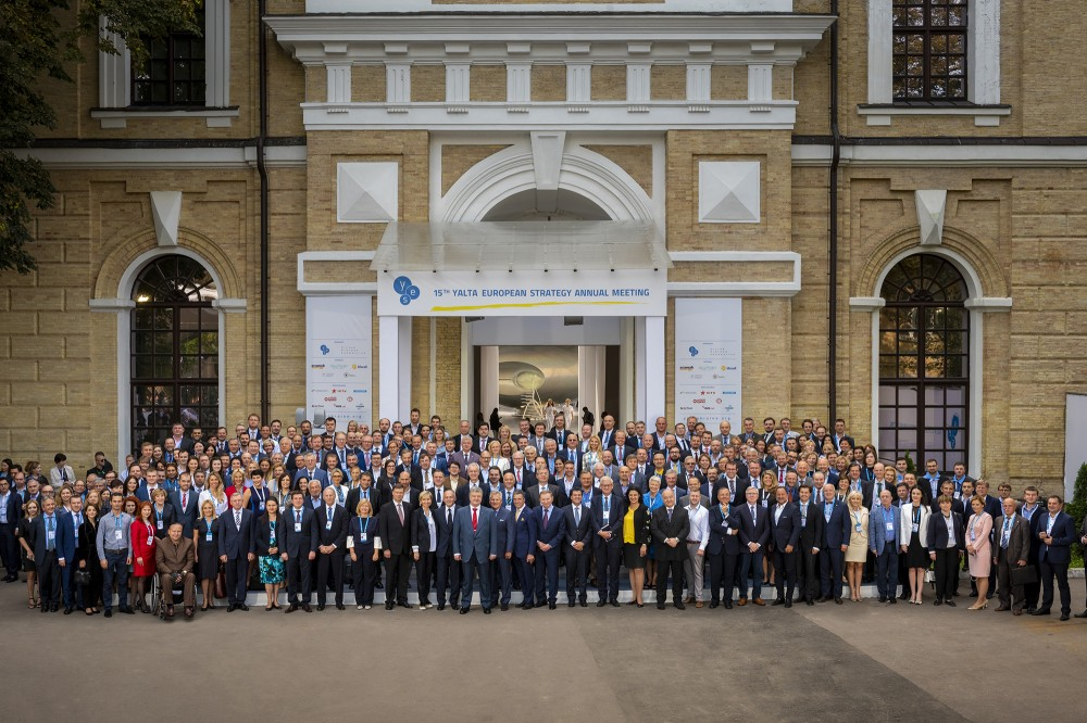 First day of the 15th Yalta European Strategy Annual Meeting
