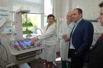 Opening of the first «Cradles of hope» Centre in Chernygiv maternity hospital